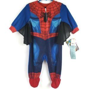 Marvel Spider-Man 12M  Blanket Costume Sleeper